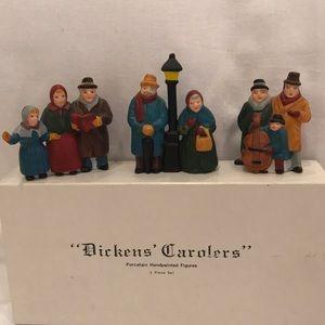 """Dept. 56- """"Dicken's Carolers""""- #6526-9-handpainted"""